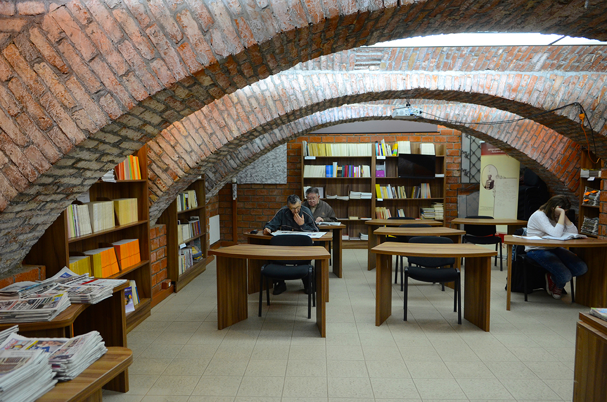 biblioteka danas
